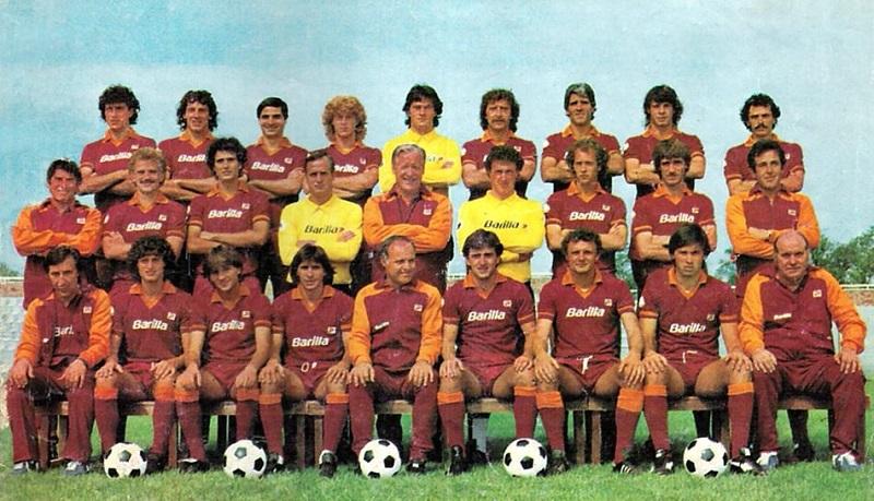 Squadra Roma Campione d Italia 1982-83 M