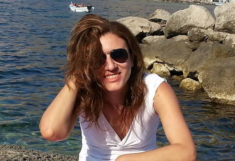 Laura Nobile a Palermo mare zoom