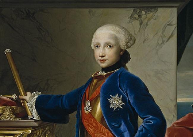 Ferdinando I delle due Sicilie a nove anni