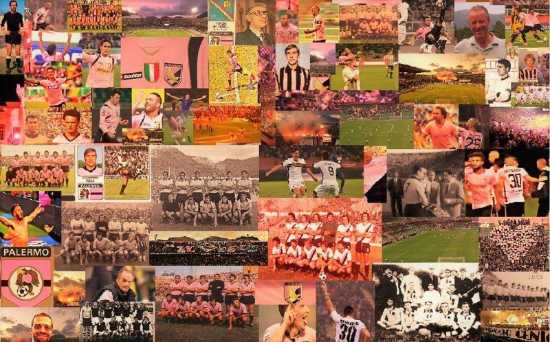 La storia del Palermo in un collage di fotografie