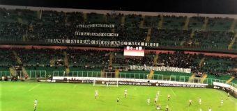 Il Palermo torna capolista in una notte carica di emozioni
