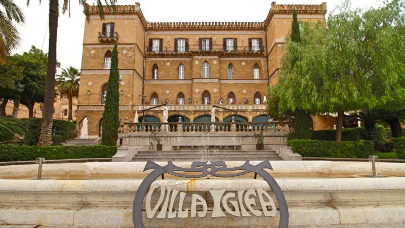 Villa Igiea a Palermo, sontuosa e prediletta dai Florio, sarà sede dell'imminente conferenza internazionale sulla Libia del 12 e 13 novembre 2018