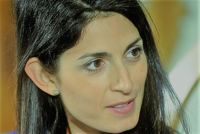 Virginia Raggi Festival_Economia 2016 da Wikipedia zoom art