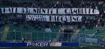 Il Palermo a Padova: vittoria, primato, gemellaggio e solidarietà