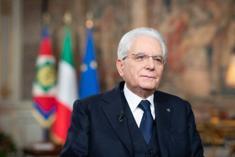 Presidente Mattarella discorso fine anno 2018 e auguri 2019