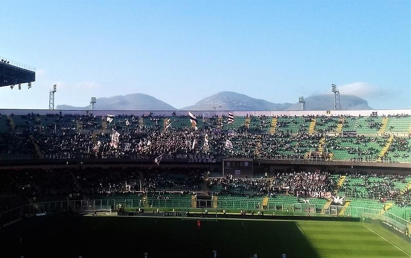 Palermo - Carpi 4- 1 curva nord zoom T M