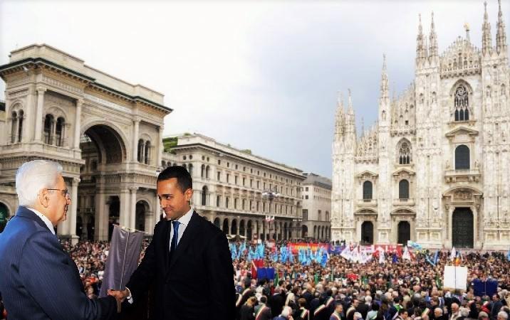 25 Aprile 2019 Milano Mattafrella e Di Maio 2 T