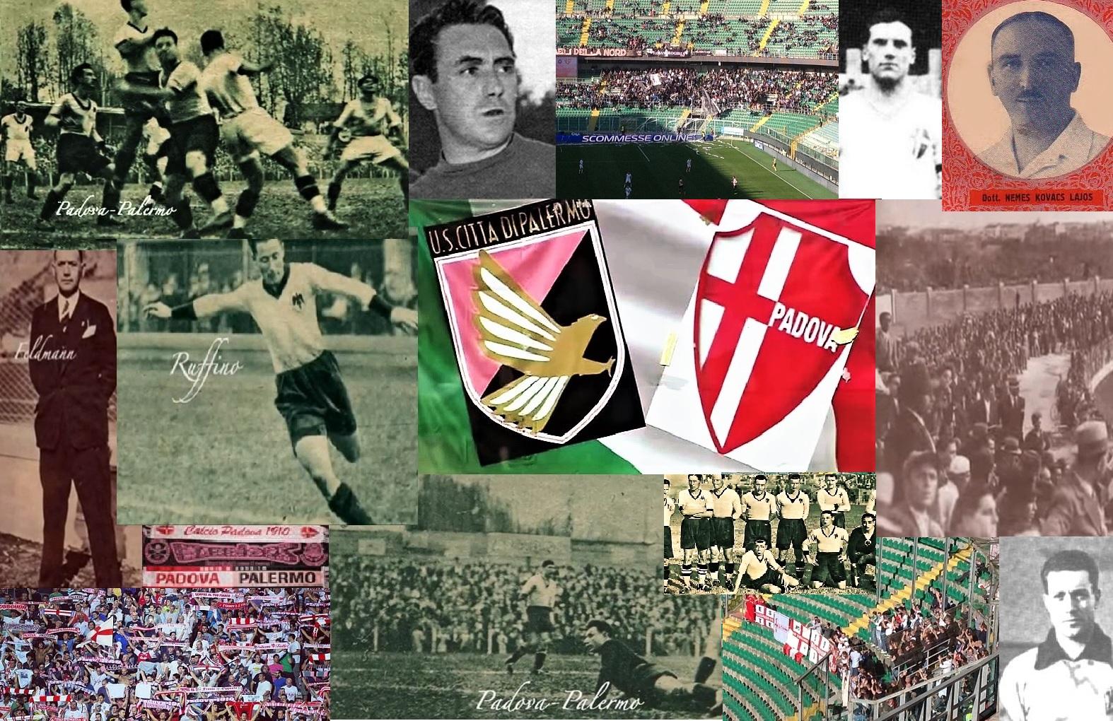 Palermo Padova collage gemellaggio 1932