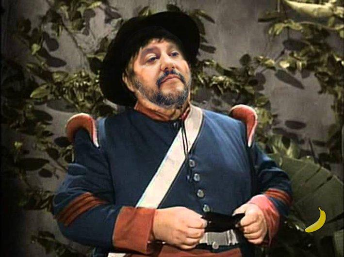 Chissà cosa ne penserebbe il captano, pardon, il sergente Garcia