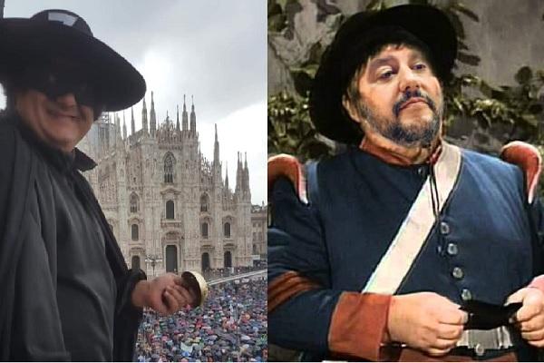 Zorro batte Sergente Felpa Garcia 2 M