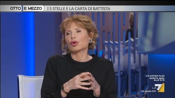 Lilli Gruber La 7 in t Di Battsta 21 giu 2019