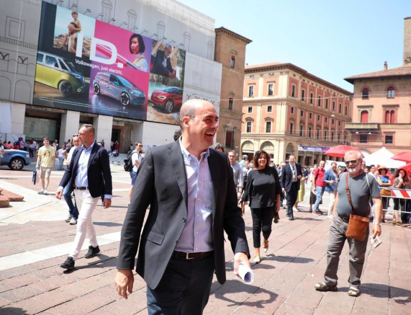 Nicola Zingaretti a Rep-Idee Bologna 2019