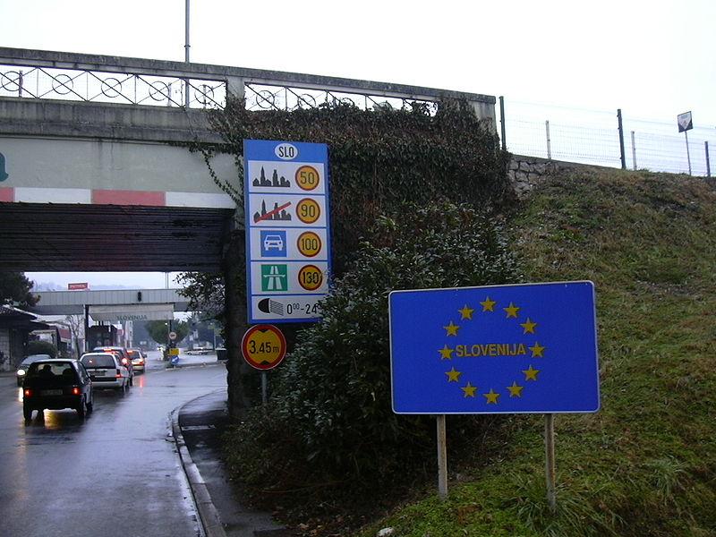 Confine Italia-Slovenia da Wikipedia 1