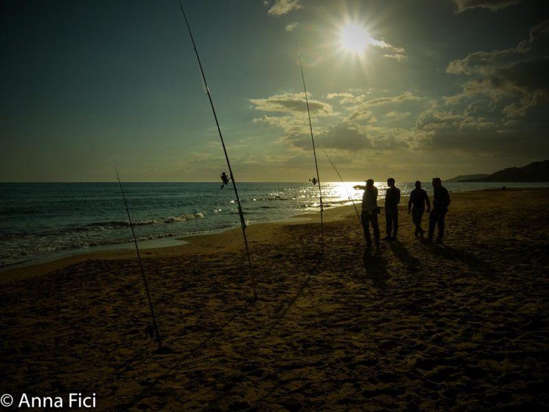 Costa nella zona di Siculiana in Sicilia, foto di Anna Fici