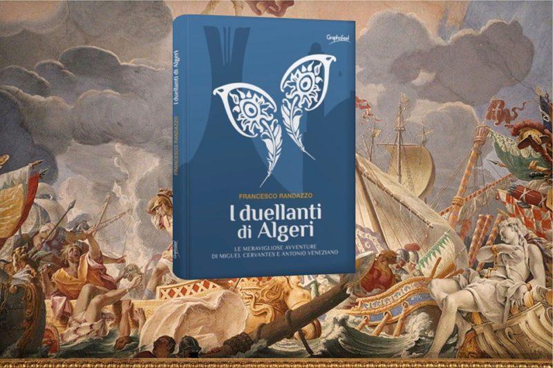 I duellanti di Algeri Cervantes e Veneziano con sfondo