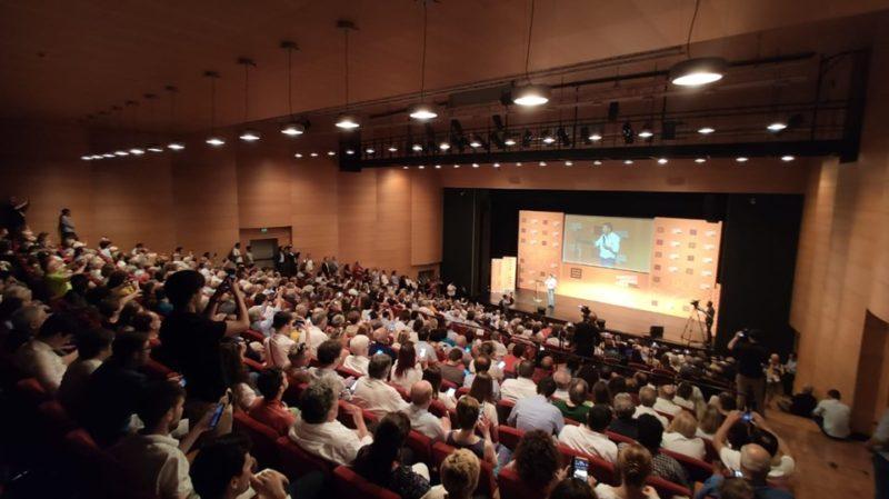 Renzi a Milano 12 luglio 2019, diretta social seguita da un numero di spettatore quattro volte più grande di quella di Zinfaretti