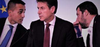 Il governo del fallimento crolla tra insulti e macerie. Italia in ginocchio