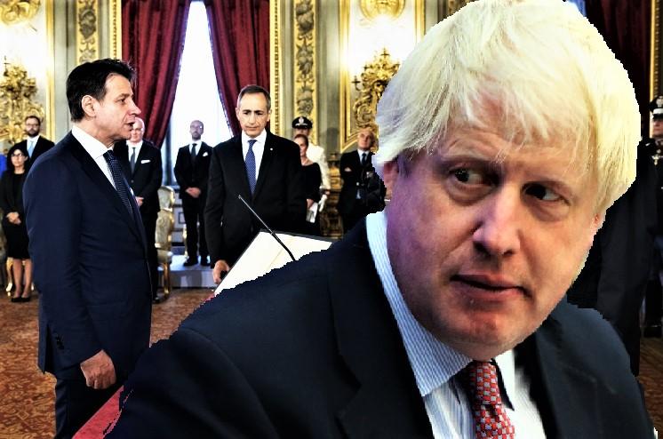 Boris Johnson rischia effetto-Italia 2 T