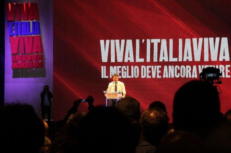 Leopolda 2012 e slogan Italia Viva e la situazione prima delle elezioni in Umbria2019