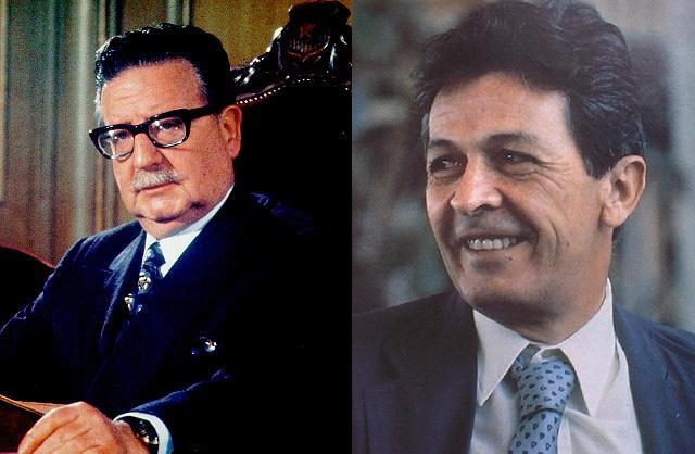 Salvador Allende ed Enrico Berlinguer M
