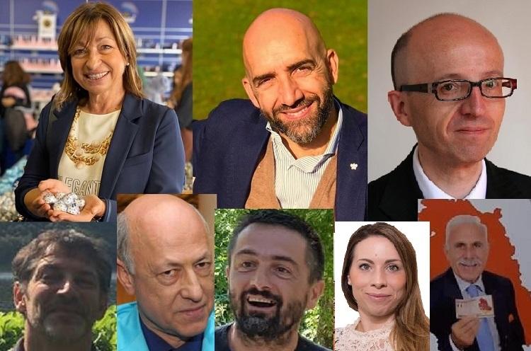 Gli otto candidati a presidente in Umbria, elezioni 2019