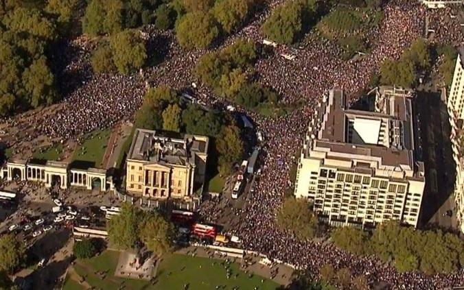 Il popolo contro Johnson e la Brexit PeolesVoteMarch 19-10-2019 3