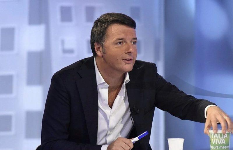 Italia Viva Renzi sondaggio e Yogurt
