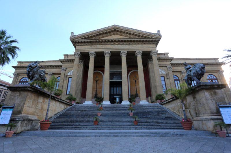 Palermo e il Teatro Massimo