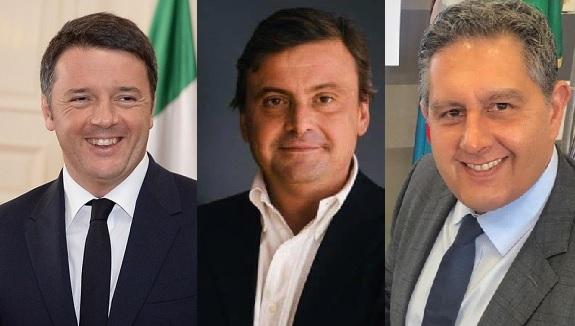 Renzi, Calenda e Toti