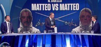 A chi è giovata la sfida in Tv tra Salvini e Renzi