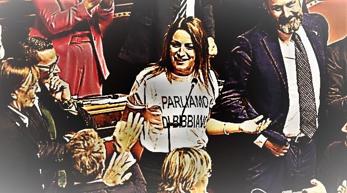 Bergonzoni. Bibbiano al parlamento