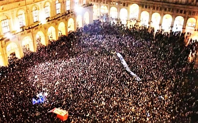Bologna manifestazione spontanea 14 novembre 2019 M T