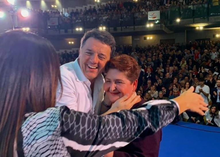 Itaia Viva in Sicilia Renzi e Bellanova a Catania 16 novembre 2019 M