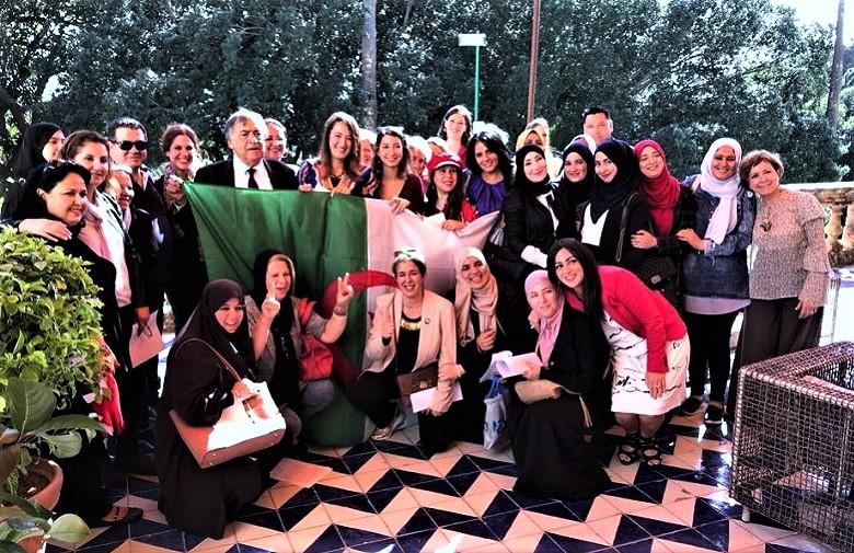 Progetto Amina Jasmine Network venti donne leader a Palermo 3 M T
