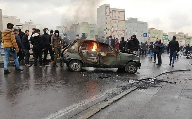 Rivolta in Iran 2019 3