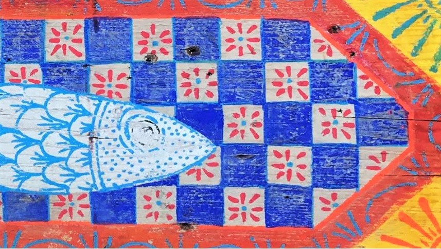 "Sardine di Palermo, un ""banner sardina"" di Rita Pirrello"
