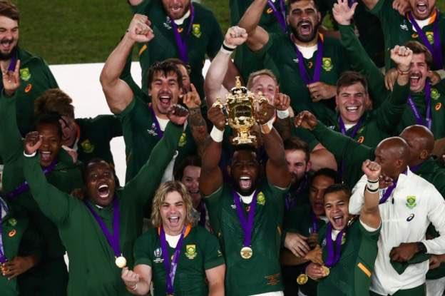 Sudafrica campione del mondo rugby 2019 coppa 2