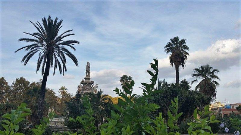 Turismo in Sicilia villa Bonanno Palermo T