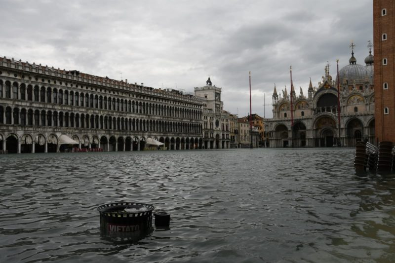 Venezia acqua alta novembre 2019