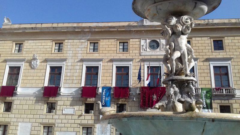 Palermo sede Comune foto di Gabriele Bonafede 7-2018