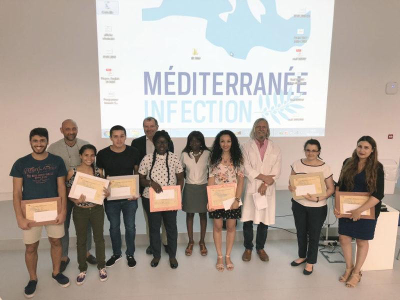 IHU Marseille con il prof Raoult giornata della fondazione 2018