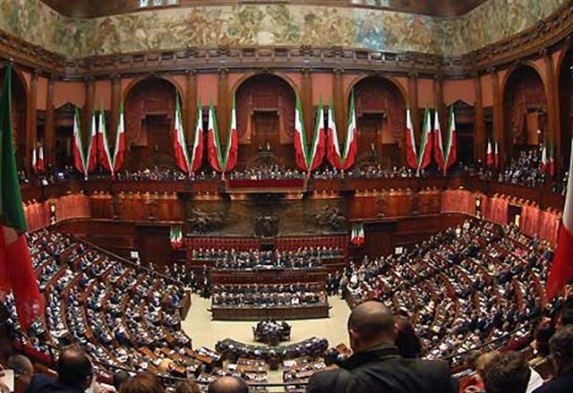 Parlamento, italiano, seduta comune per i 150 anni dell'Unità d'Italia
