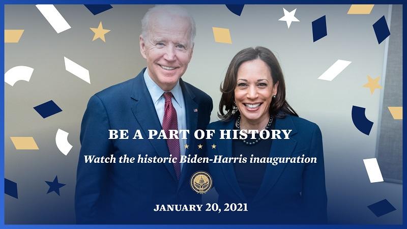 Inaugurazione Biden-Harris immagine ufficiale 1