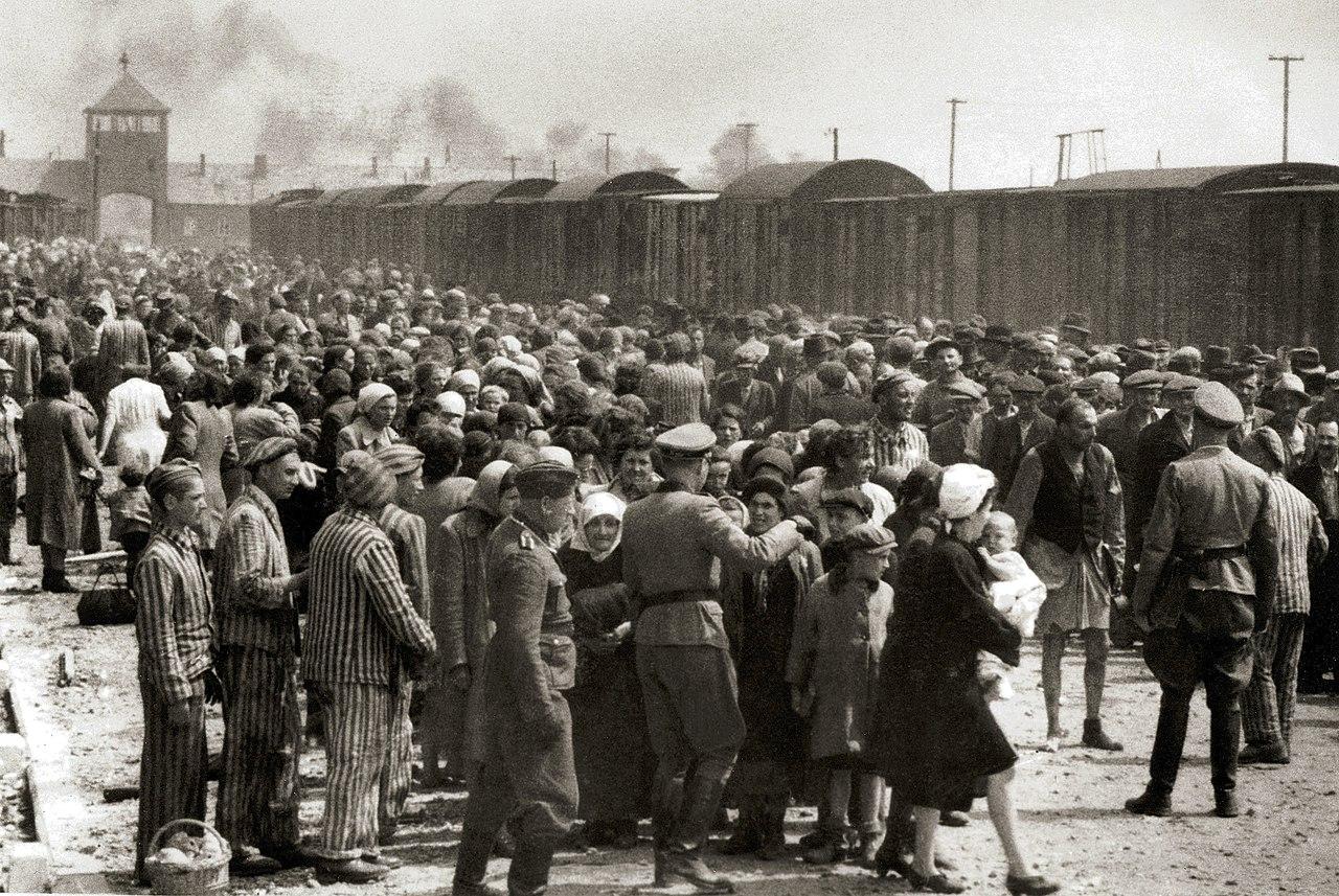 Shoah e il dovere della memoria Selection at Auschwitz-Birkenau 1944