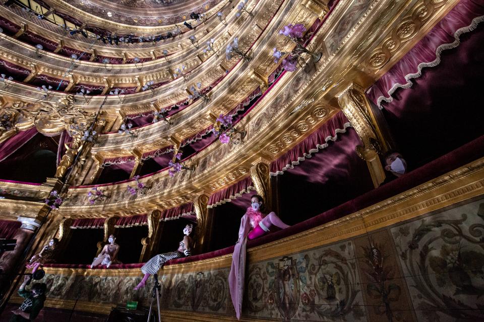Teatro Massimo Stagio Il crepuscolo dei sogni © rosellina garbo 2021
