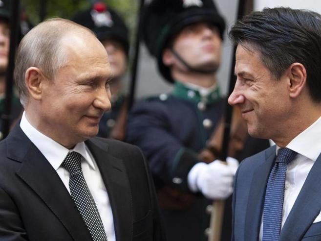 Amici dei dittatori Conte e Putin 3
