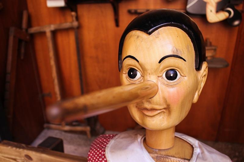 Pinocchio and Nigel Farage M