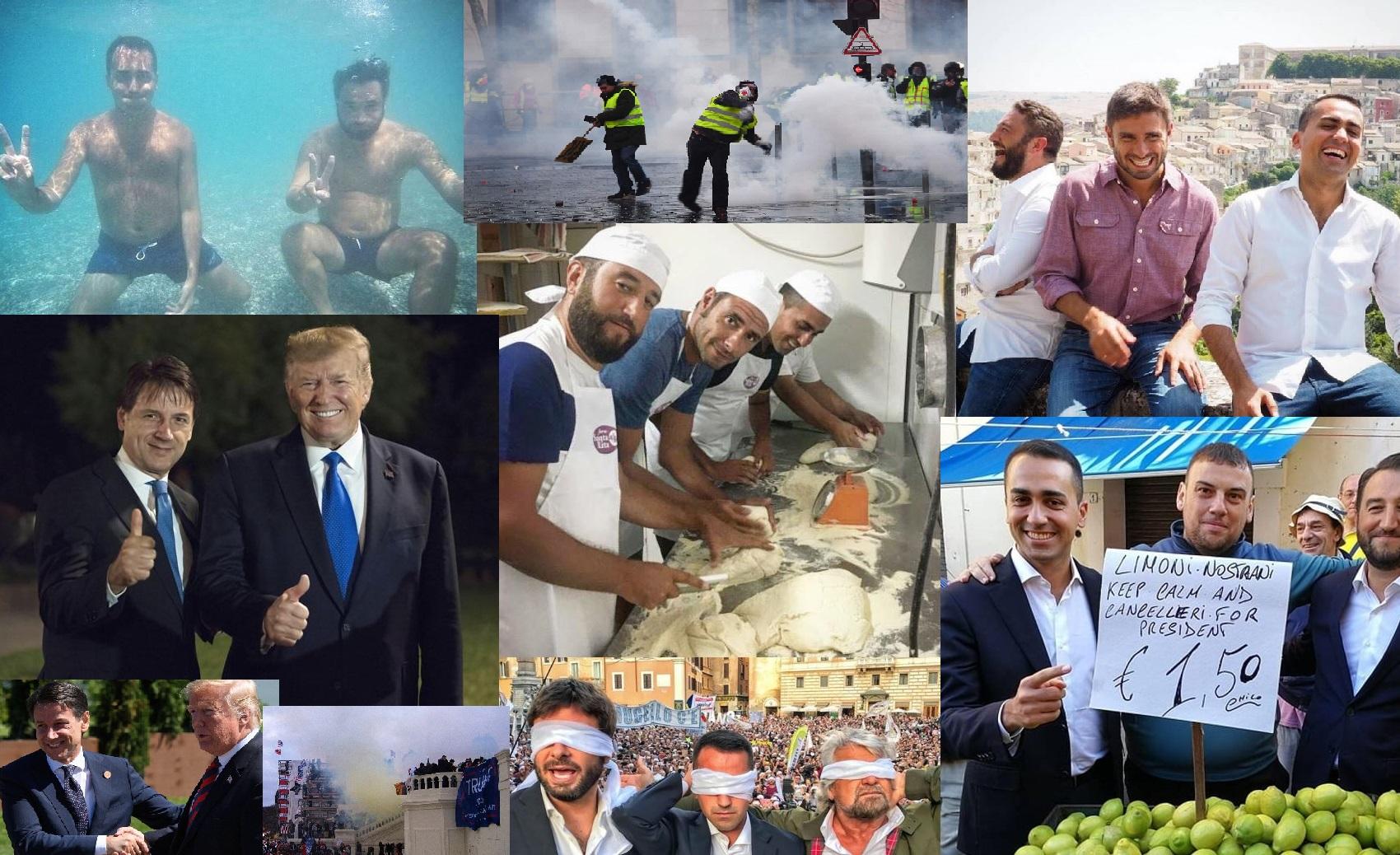 Responsabili e irresponsabili collage 1