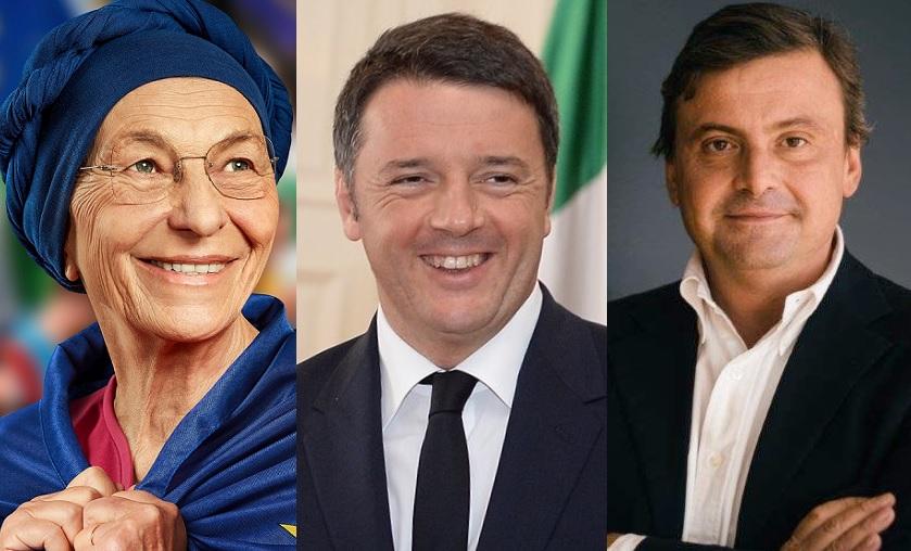 Unità dei riformisti Bonino Renzi Calenda