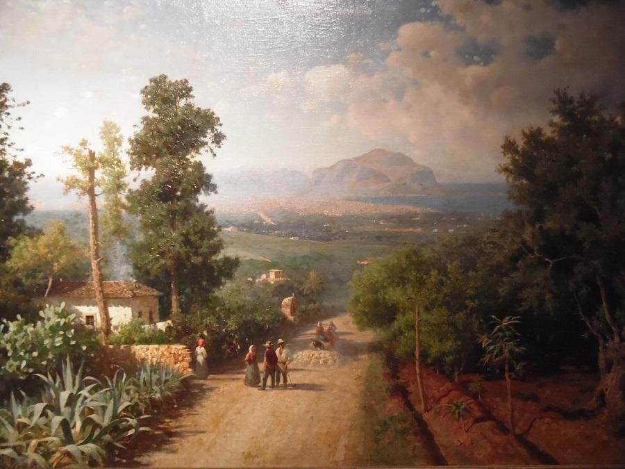 Francesco Lojacono Veduta di Palermo nel 1875 quando Notarbartolo era sindaco